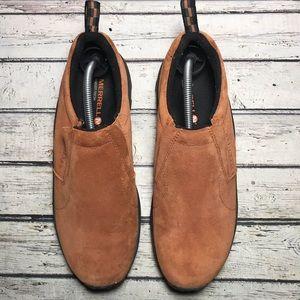 Merrell Suede Jungle Moc Shoes Size 10.5